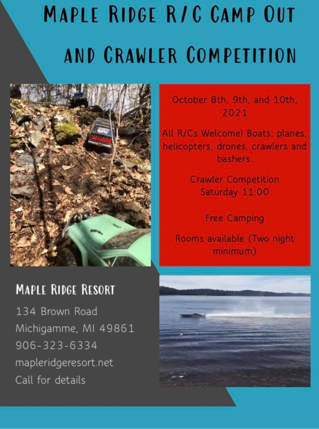Maple Ridge Resort RC Camp Out and Crawler Competition IMRC