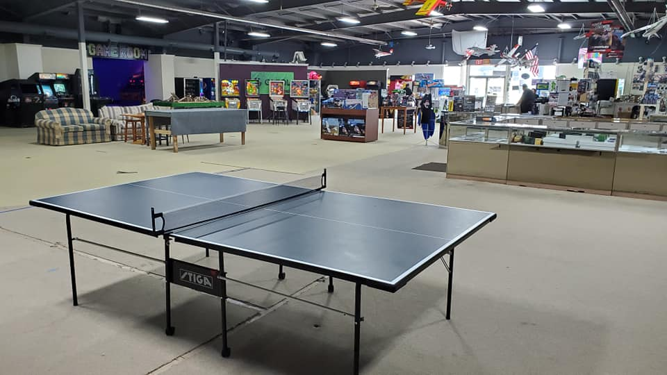 Table Tennis Tournaments at the Iron Mountain Rec Center in Iron Mountain Michigan in the Upper Peninsula